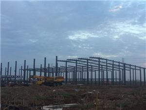 Structure Steel Fabrication Prefabricated Industrial Warehouse