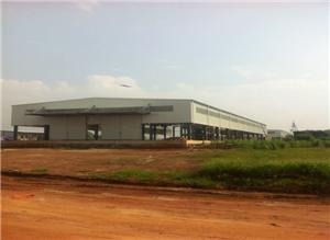 Steel Frame Modular Factory Buildings
