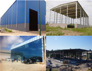 Plant steel construction
