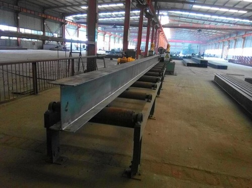 ​Steel H-beams is an economic material