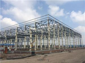 Truss Roof Steel Frame Warehouse Construction Building