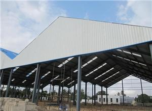 Commercial Steel Warehouse Shed