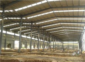 Commercial Steel Godown Construction