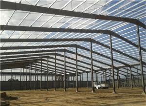 Portal Light Frame Steel Frame Warehouse Construction