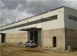 Multi-Layer Steel Frame Industrial Factory Buildings Manufacturing