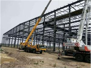 Multi-Level Steel Warehouse Construction