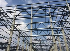 Truss Roof Steel Frame Commercial Warehouse Construction