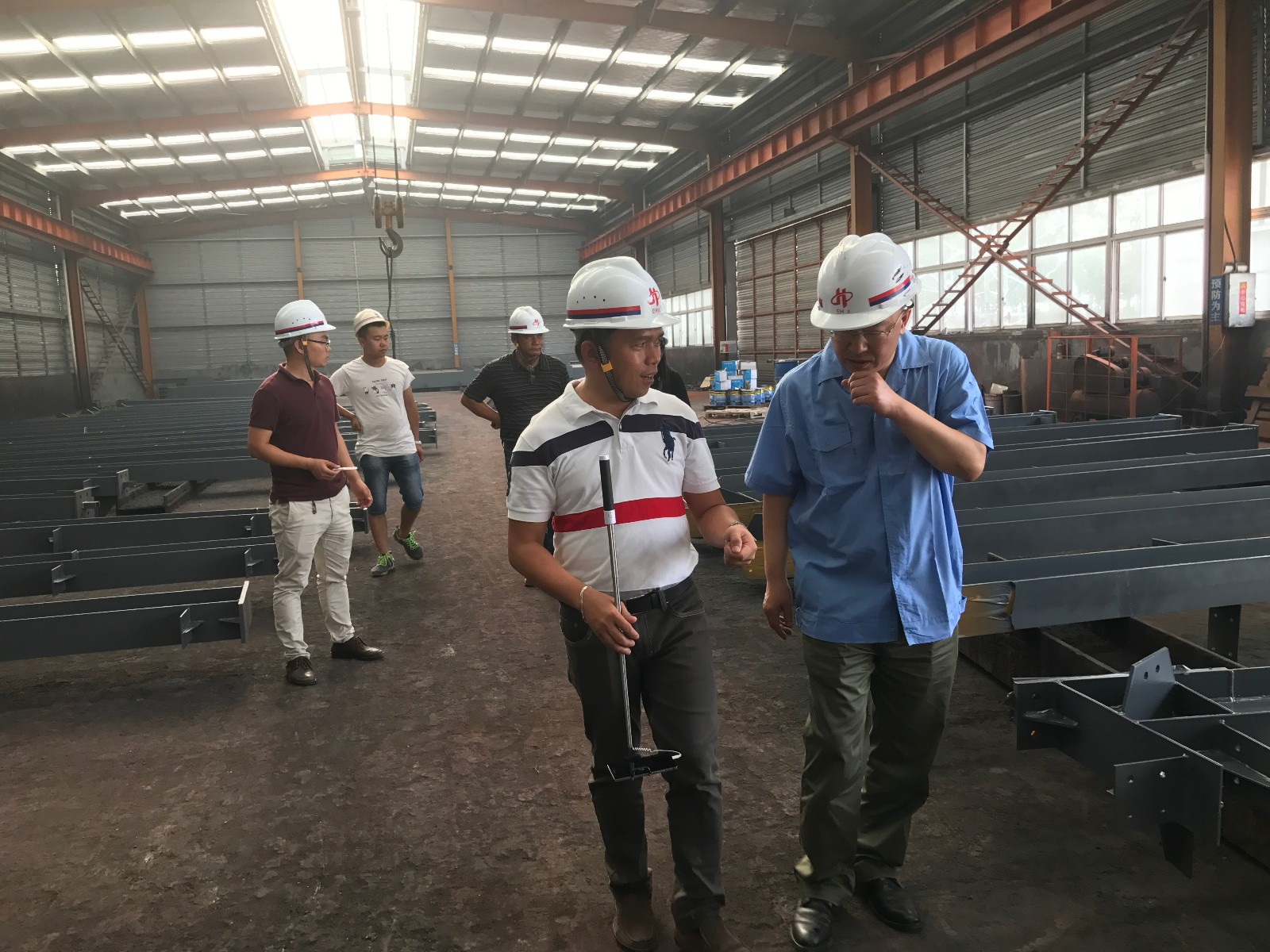 Our Philippines customers visited our factory