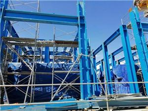 steel structure new project warehouse in PHILIPPINES
