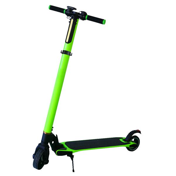 Green carbon fiber smart electric scooter