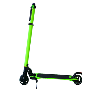 Green carbon fiber smart electric scooter