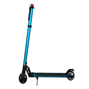 Blue aluminum alloy smart electric scooter