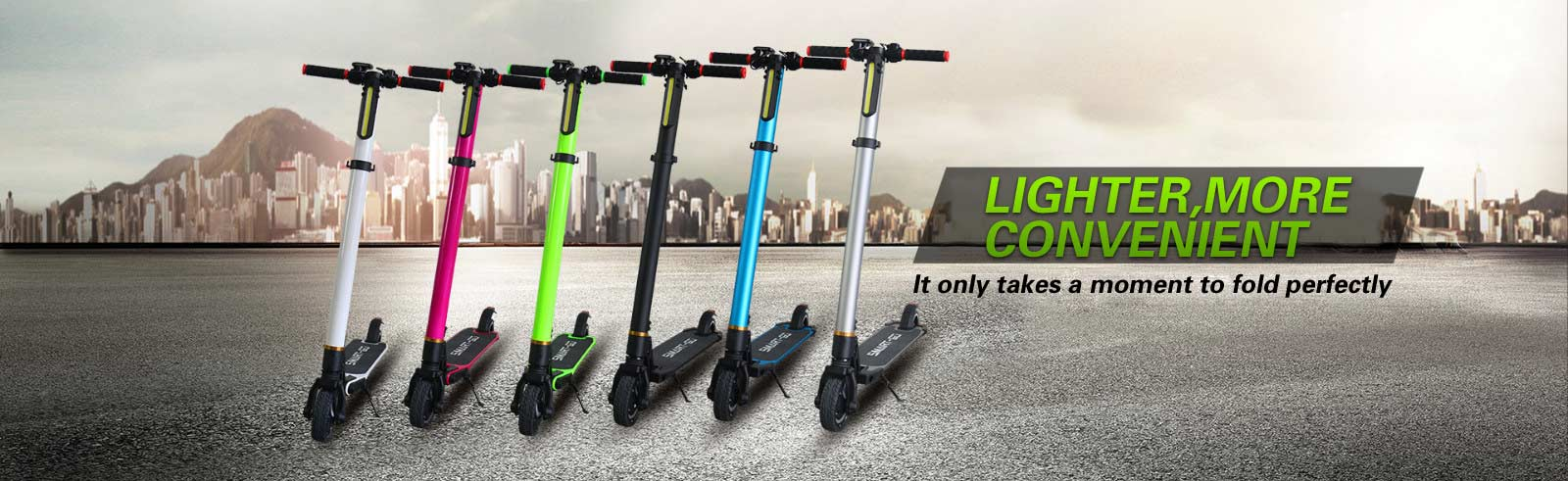 Carbon Fiber Smart Electric Scooter