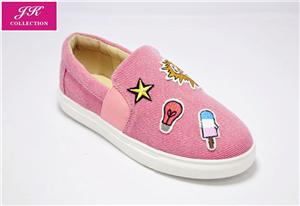 Girls Cute Patches Sneaker