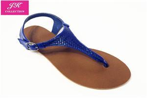 Women Weaver Backstrap Flat Sandals