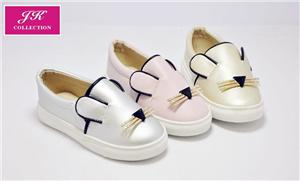 Girls Mouselet Metalic Sneakers