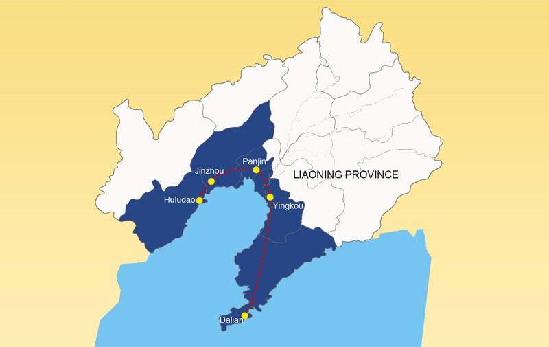 """""""Fem poäng och en linje"""" kustbevakningsprojekt"""