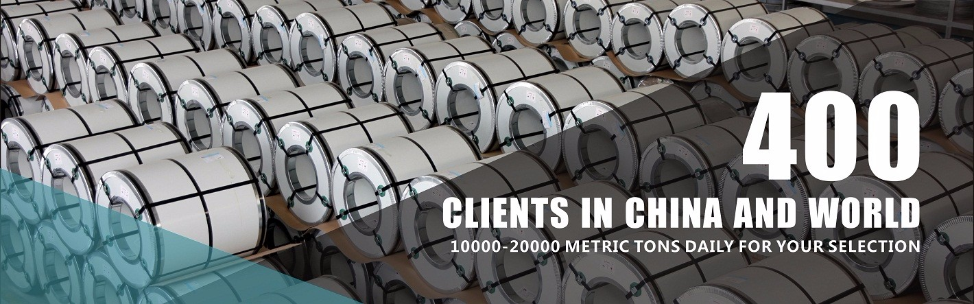 400 STEEL Clients in China and World
