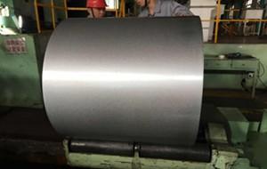 Bobina in acciaio di galvalume con stampa anti-dito
