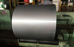 Galvalume stålspole med antifingerutskrift
