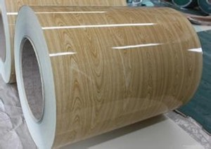 [MESCO STEEL]木纹PPGI预涂镀锌钢Z30 Z80 Z275