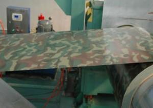 PPGI板式迷彩镀锌钢屋面板