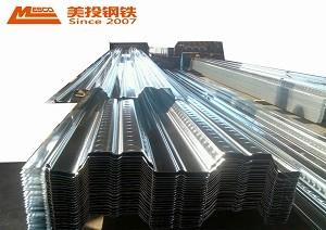 Wellblech kaltumformend GI-Stahlblech verzinktes Stahlblech verzinktes Stahldeck Terrassenbodenblech