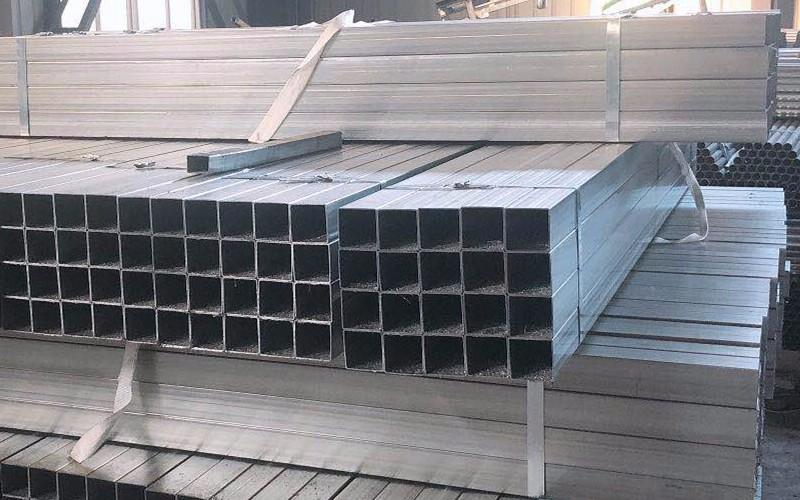 Hochwertiges Zink-Aluminium-Magnesium-Vierkantrohrrohr Hohe Korrosionsbeständigkeit ZAM-Vierkantrohr