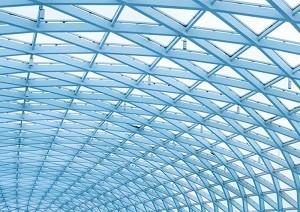 Prafabricated钢架结构用于植物,工厂,光MATEL和重材料停车场