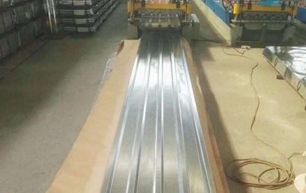 Galvaniserad stålspole