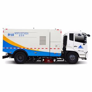 Multifunctional Sweeping Truck With Wash Fuction