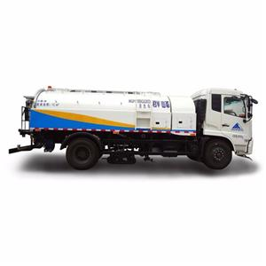 street cleaning high pressure water truck