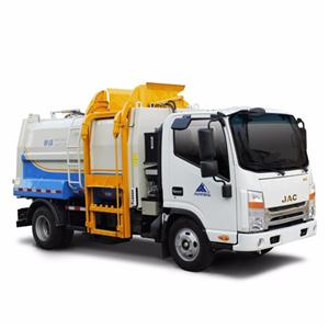 Side-loading Garbage Compression Truck