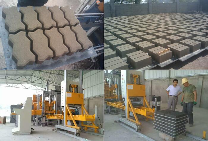 QF400 Small Brick Making Machine
