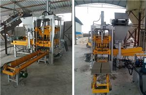 QF400 Small Brick Making Machine