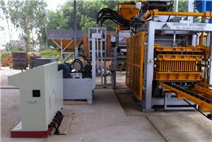 QFT10-15 Automatic Block Making Machine