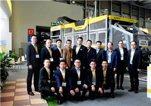"The perfect ending of Bauma CHINA and The ""Super Star"" of QUNFENG QS2000 huge capacity blcok machine"