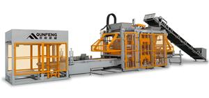 Fully-automatic Block Moulding Line