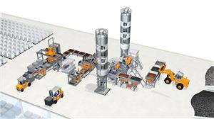 Simple Brick Making Production Line