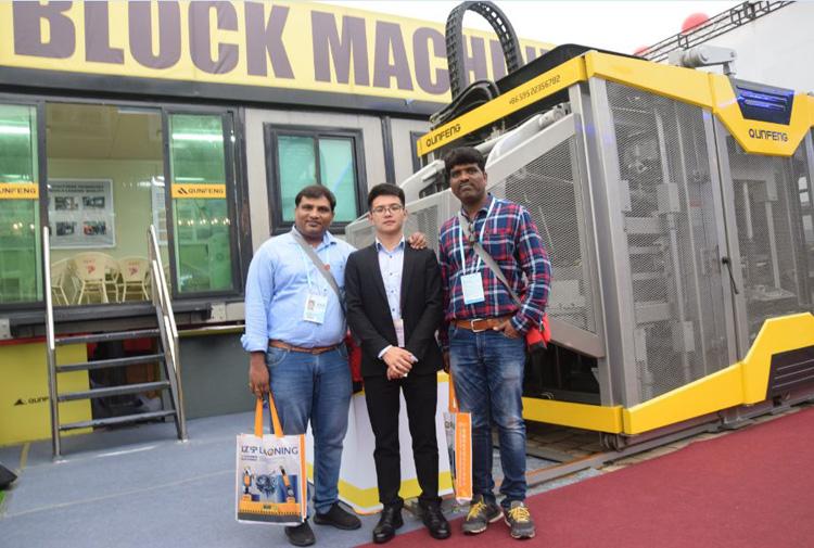 QF400 fully automatic block machine