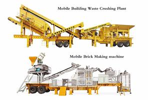 The Mobile Building Waste Production Line Manufacturers, The Mobile Building Waste Production Line Factory, Supply The Mobile Building Waste Production Line