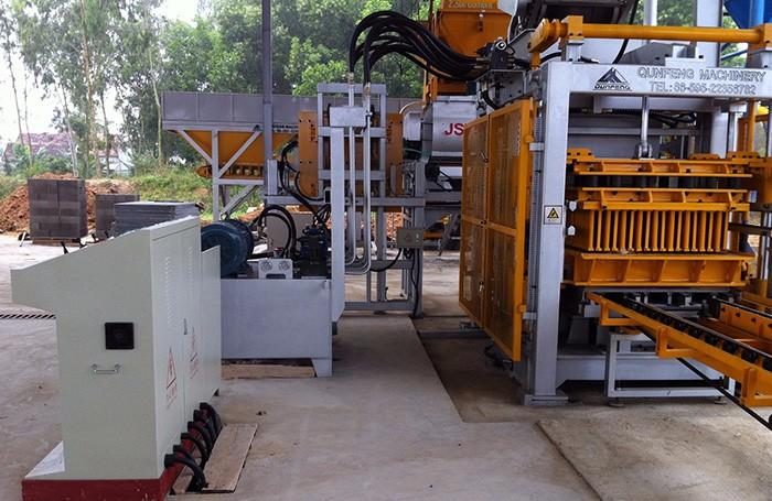 QF1300 Automatic Block Making Machine