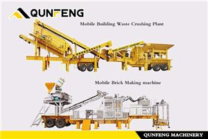 The Mobile Building Waste Production Line