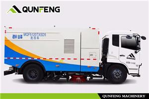Eco-friendly Multi-functional Cleaning And Sweeping Truck