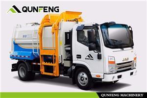 Side-loading Garbage Compression Truck
