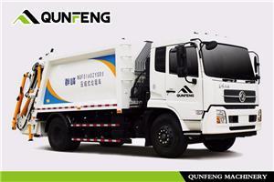 Back-loading Garbage Compression Truck