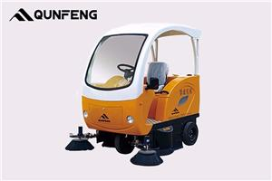 Eco-friendly Electric Road Sweeper