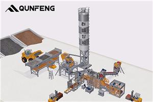 Single Line Simple Brick Production Line