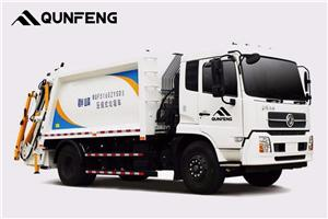 Back-loading Garbage Compression Truck