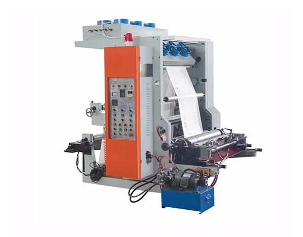 Plastic bag printing machine